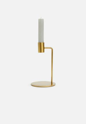 Niko candle holder - gold