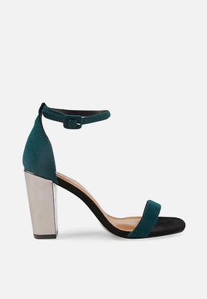 9c415c9ffd44 San serena square toe heel - green