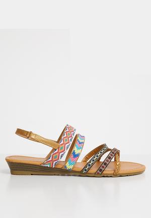07f47f8b9af Strappy sandals - multi