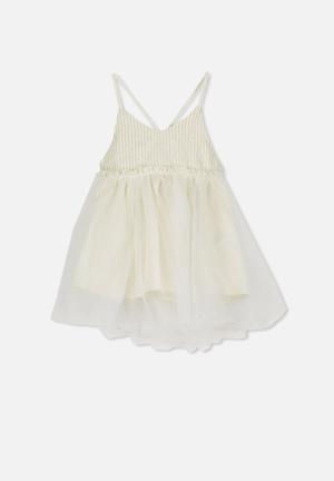 136698684cb Isadora dress up - cream   gold