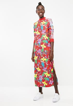 07e1c2f87550 Graphic dress long sleeve - multi