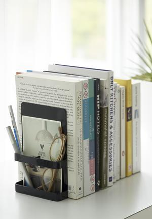 Tower bookends - black