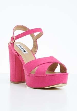 5498eaa6e2b0 Ankle strap heels - pink