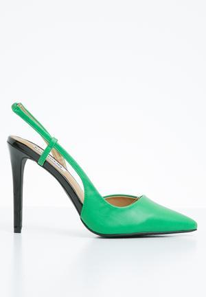 328af2dea381 Slingback court heels - green