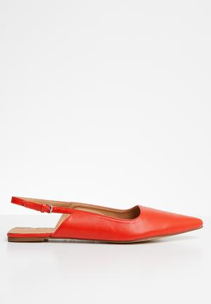 506774bb323 Dabrylla metal front flat mule - red. By ALDO R1199. Add to wishlist.  Slingback pumps - red