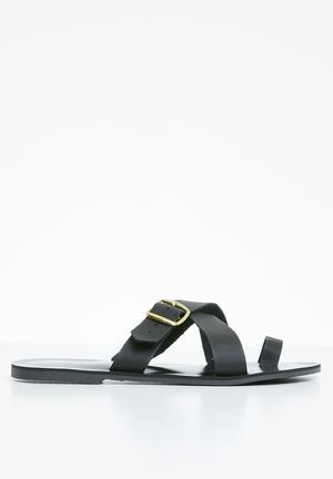 5131fd825be5 Black Sandals   Flip Flops for Women