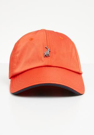 89f4ca8c8990 Ackley contrast peak cap - orange