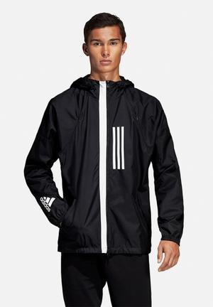 Windbreaker jacket - black