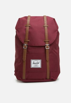 quality design 286fd 8d9c6 Retreat backpack - burgundy