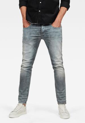 c1d31866708 3301 slim fit Wess grey superstretch jeans - grey