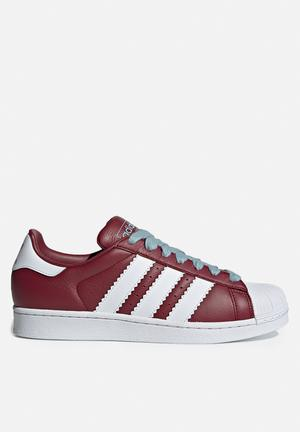 4622165073ae06 By adidas Originals R1599 · Superstar - collegiate burgundy white ash grey