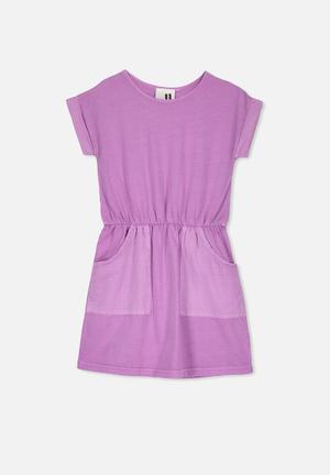 05bf9b2e80 Sibella short sleeve dress - purple