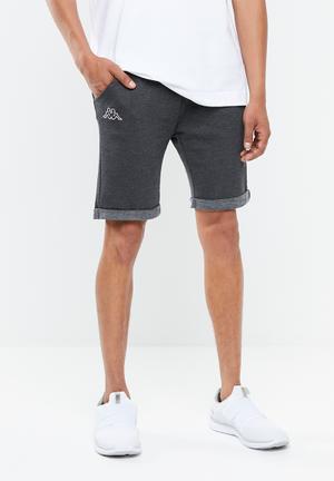 07c357b53eba Logo zibu slim shorts - grey