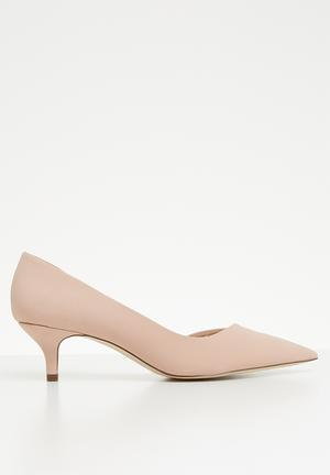 539359e78d4 Cherin kitten heel - pink. 3 options