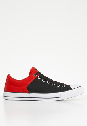 aa2ace116a96 Chuck Taylor all star high street - ox - enamel red black white