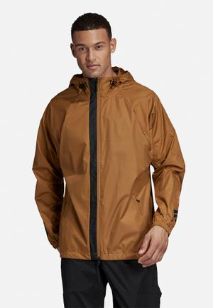 The pack wind jacket - tan