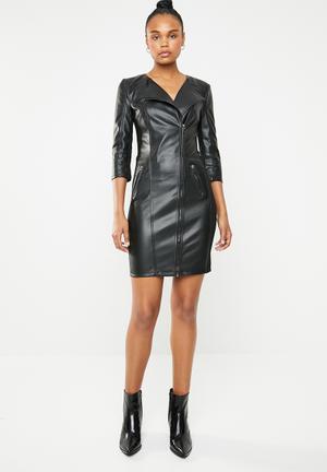 New linn mix dress - black 1e6de142d974
