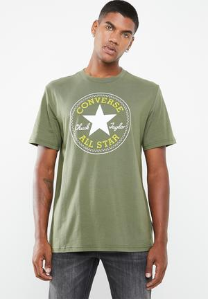 b33c7cdfea8f By Converse R189. Add to wishlist. Chuck patch tee - green