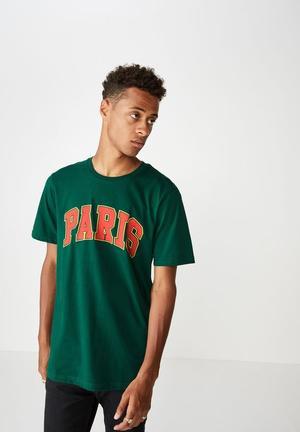 f4049816352 Paris curve sport T-shirt - green
