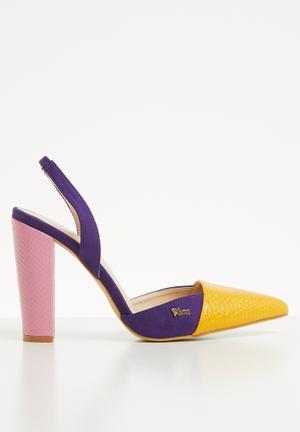 2f971c609ccb Colour-block heel - multi
