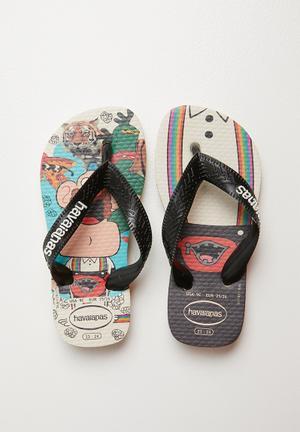 5f548d1af27d Simpsons flip flops - white. By Havaianas R349. Add to wishlist. Kids  cartoon flip flops - beige