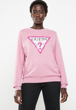 4b4318aa172e0 Long sleeve tri active top - pink