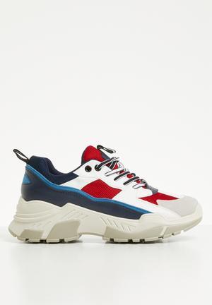 Evie sneaker - navy   red 2a118a878b42