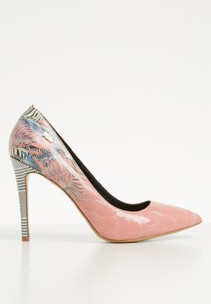 Zebra print stiletto heel - pink cf2a87db80c8