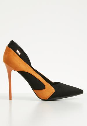 Stiletto heel - black   tan 5d681b0e21aa