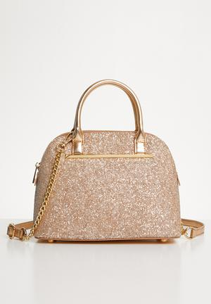 Yauza tote handbag - rose gold bed9d41406539