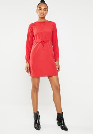 Monty short dress - red ad95c76f005a