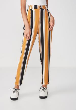 1069e825d12 Abi high waist pants - mustard