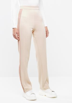 1deb541e40eba Boity sporty high-waisted track pants - pink