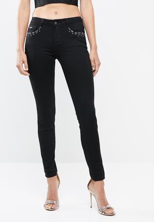 1826f6d91d9d Haze skinny jeans - black