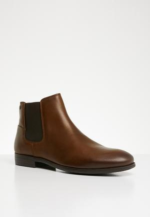 3d4497008b2e Frank leather chelsea boots - brown