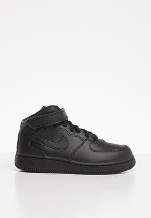81805073df Nike air force 1 mid sneaker - black