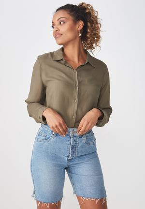 09a2f99dab Rebecca shirt - khaki