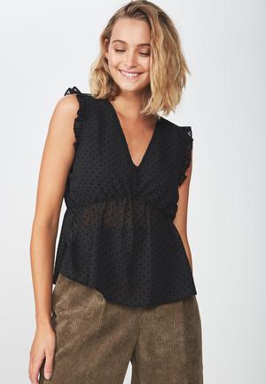 02b7ce2b078a10 Cindy blouse - black