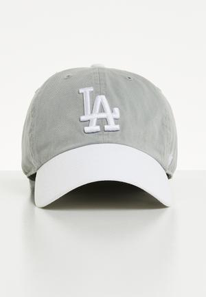 4e976df33caff2 47 L.A dodgers cap - grey   white