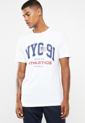 fbbfac33d7b Nyc 91 T-shirt - white
