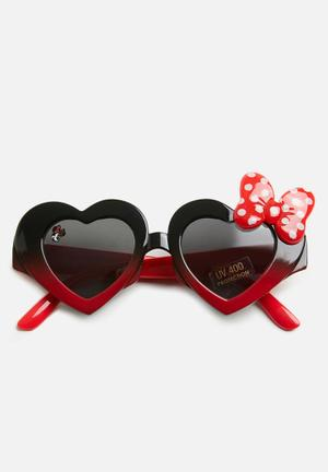 bf3630d881b Minnie mouse sunglasses - red