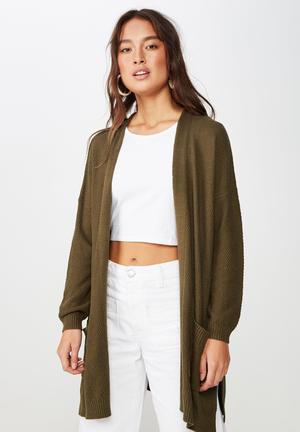 80c45c3210ea Archy cardigan - green. 2 options