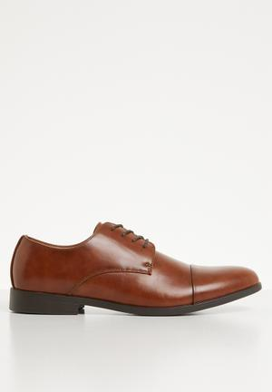 Huttner-r formal shoe - brown