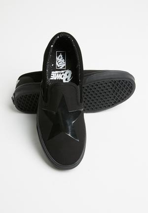 1fb75f76f7 UA Classic Slip-On x David Bowie - Blackstar black