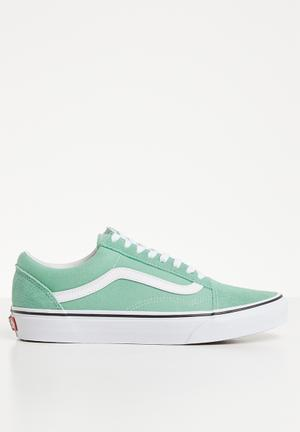 b80a2c61d2 Old Skool - neptune green true white