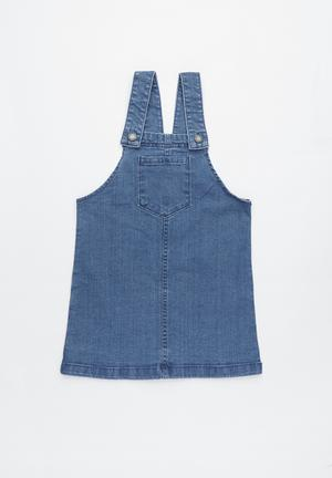 f561026761c7 Summer pinafore - blue