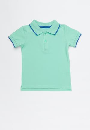 a7088a376fd4 Hugo polo tee - green