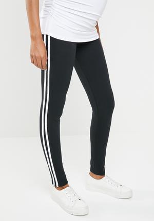 9b7cc6ab961 Racing stripe leggings - black