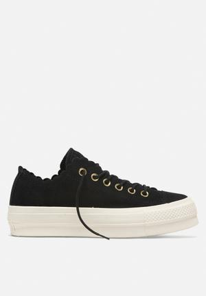 206c2044ba6c Chuck Taylor All Star Lift - OX - black   gold   egret