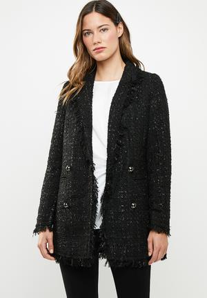 Sparkle jacket - black